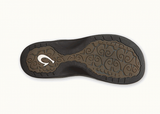 Olukai Women's Ohana Black / Black Sandals Flip Flops - SURF WORLD  - 4