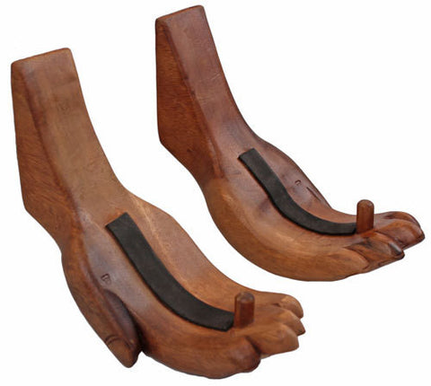BTSUPH3 SUP Stand Up Paddle Board Wooden Hand Racks Set of 2 - SURF WORLD Florida