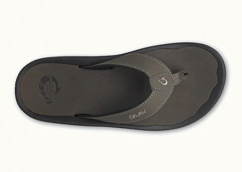 Olukai Ohana Men's Sandals in Kona / Kona Dark Olive Flip Flops - SURF WORLD  - 1