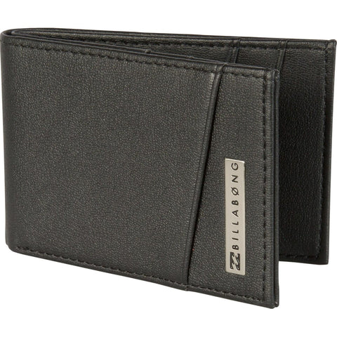 Billabong Revival Flip Wallet Black MAWTCREVBLK - SURF WORLD Florida