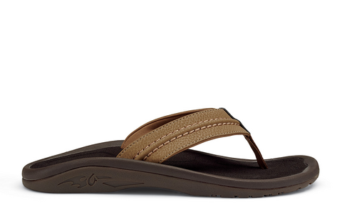 Olukai Hokua Tan Tan Men's Sandals 101613434 - SURF WORLD Florida