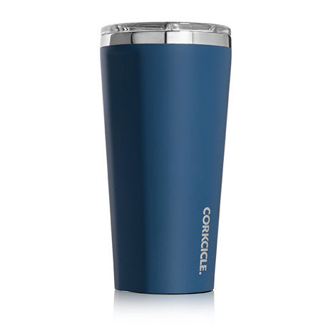 Corkcicle 16oz Matte Blue Steel Tumbler 2116MBS - SURF WORLD Florida