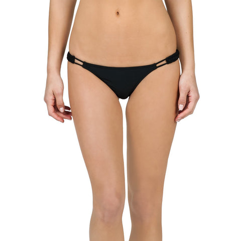 Volcom Simply Solid Tiny Bottoms Black - SURF WORLD Fort Lauderdale Florida