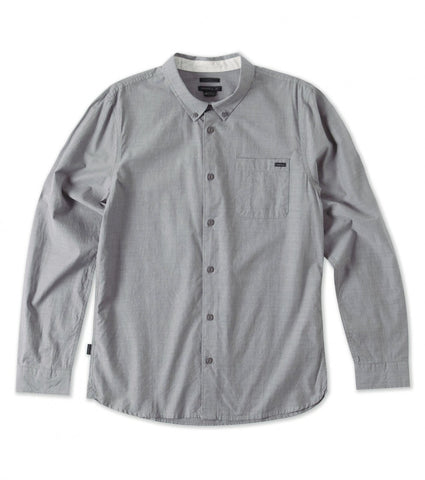 Oneill Interstate LS Charcoal Shirt - SURF WORLD Fort Lauderdale Florida