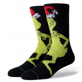 Stance Mr Grinch Socks - Black