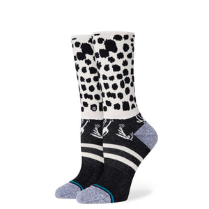 Stance running Wild Crew Socks - Black