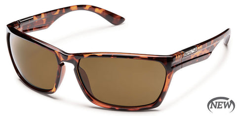 SunCloud Cutout Tortoise Brown Polarized Sunglasses SCTPPBRTT - SURF WORLD Florida