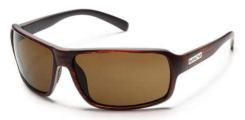 SunCloud Tailgate Burnished Brown Brown Lense Polarized Sunglasses STLPPBRBR - SURF WORLD Florida