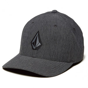 Volcom Full Stone Xfit Hat - Dark Charcoal