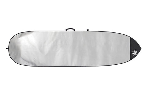 CRL067BK Creatures Of Leisure 6'7 Retro Fish Lite Black Boardbag - SURF WORLD Florida