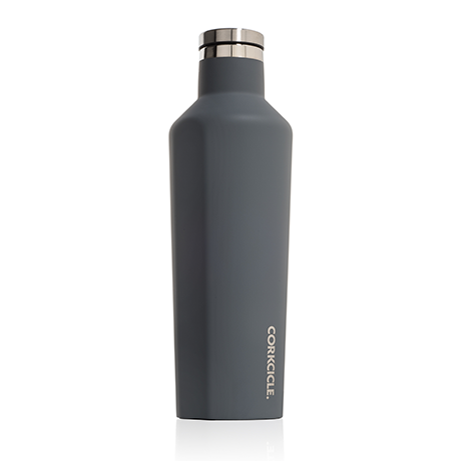 Corkcicle Canteen 16oz Matte Grey 2016MG - SURF WORLD Florida