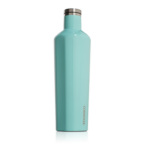 Corkcicle Canteen 25oz Gloss Turquoise SURF WORLD