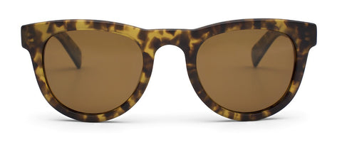 Otis Up All Night Matte Amber Tortoise Brown Polarized Sunglasses - SURF WORLD Florida