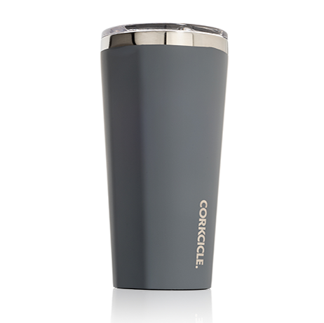 Corkcicle 16oz Matte Grey Tumbler 2116MG - SURF WORLD Fort Lauderdale Florida