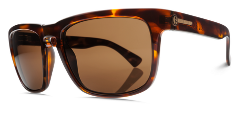 Electric Knoxville Gloss Tortoise Bronze Glass Polarized Sunglasses EE09010624 - SURF WORLD Fort Lauderdale Florida