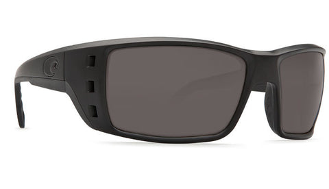 COSTA PERMIT BLACKOUT GRAY 580G POLARIZED GLASS SUNGLASSES - SURF WORLD Florida