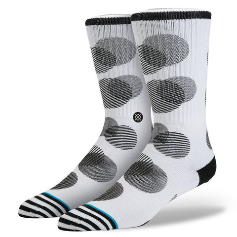 STANCE SPECK MEN'S WHITE SOCK'SM526A16SPE - SURF WORLD Florida