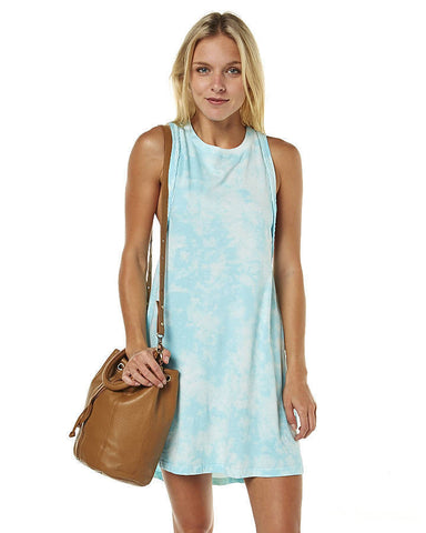 Rusty Ripple Dress Vapour Blue - SURF WORLD Fort Lauderdale Florida