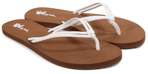 Volcom Forever And Ever White Womens Sandal W0811565WHT - SURF WORLD Florida