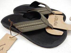 Olukai Men's Hokua Kona Black Sandal - SURF WORLD Florida