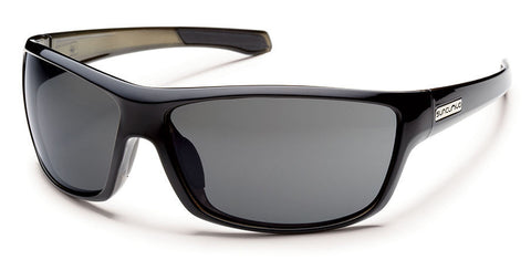 SunCloud Conductor Black Polar Gray Sunglasses SCDPPGYBK - SURF WORLD