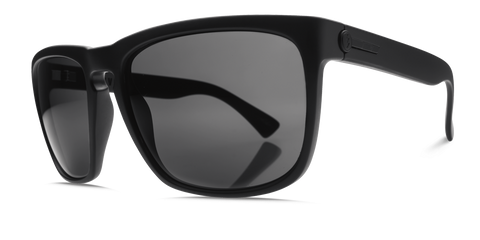 Electric Knoxville XL Matte Black M1 Grey Polarised Sunglasses - SURF WORLD Florida