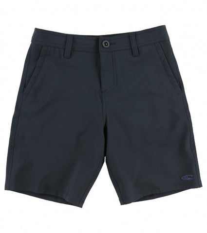 Oneill Loaded Solid Hybrid Navy Boy's Short - SURF WORLD Fort Lauderdale Florida