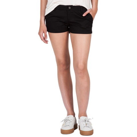 Volcom Women's Frochickie Short Black - SURF WORLD