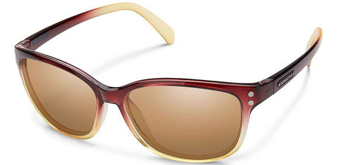 SunCloud Flutter Brown fade Sienna Sunglasses SFEPPSAMBF - SURF WORLD