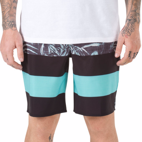 Vans Men's ERA Black Water Palm Boardshort
