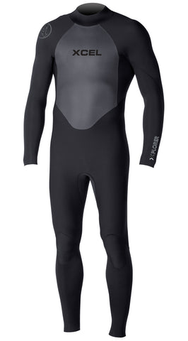 Xcel 3/2 Xplorer OS Fullsuit Black - SURF WORLD