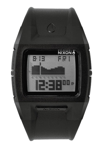 Nixon Lodown II Black Positive Watch - SURF WORLD Florida