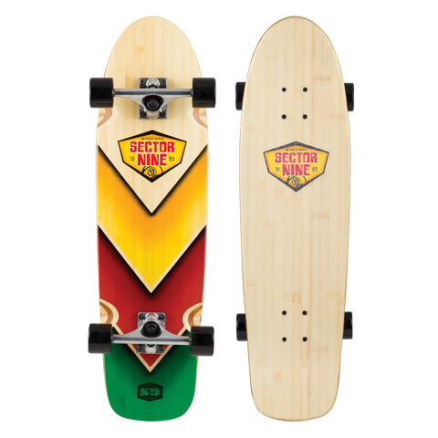 Sector 9 8.5 x 31.5 Bamboozler Complete Skateboard - SURF WORLD Fort Lauderdale Florida