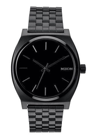 Nixon Time Teller All Black Watch - SURF WORLD Fort Lauderdale Florida