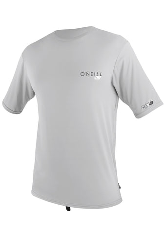 Oneill Men's Lunar Rashguard Skins RG8 Short Sleeve Rashguard Tee Cut Sun Protection - SURF WORLD Florida