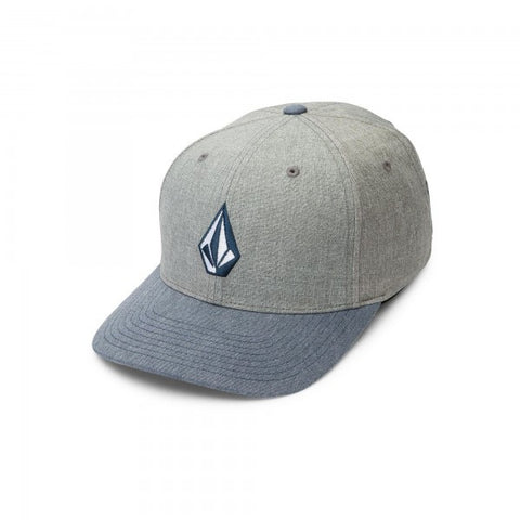 Volcom Full Stone Heather  Fog Grey Flexfit Hat