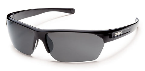 SunCloud Detour Black Polar Gray Sunglasses SDTPPGYBK - SURF WORLD