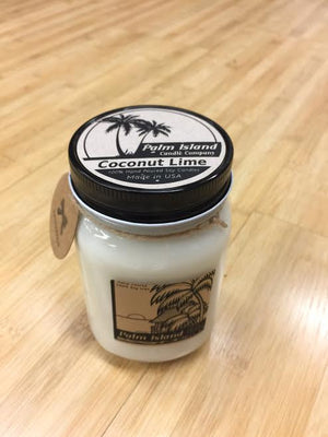 Palm Island Candle Company Caribbean Coconut Candle - 16 oz SURF WORLD