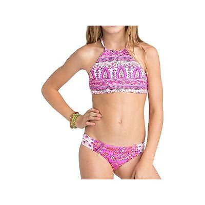 Billabong Penny Paisley High Neck Crop Swimsuit Set Y206EPENPRP - SURF WORLD Florida