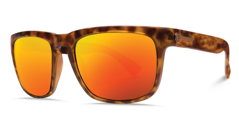 Electric Knoxville Matte Tort OHM Grey Fire Chrome Sunglasses EE09013958 - SURF WORLD Florida