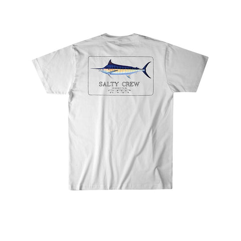 Salty Crew Blue Roger S/S Tee - Blue