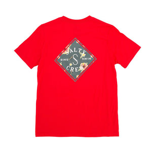 Salty Crew Island Time Boys Tee - Red SURF WORLD