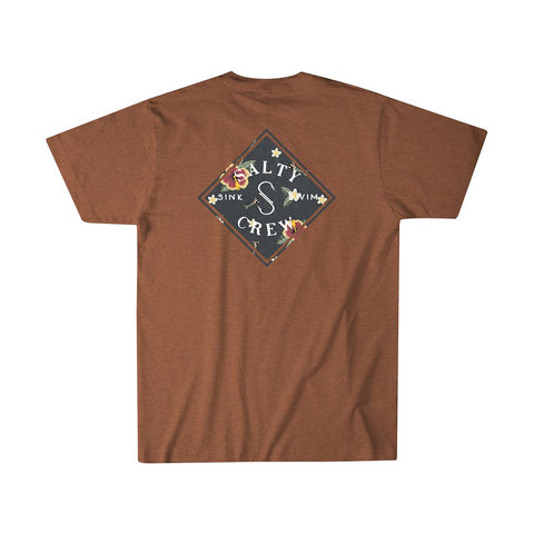 Salty Crew Island Time SS Tee - Spiced Heather