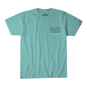 Salty Crew Fresh Catch SS Mens T Shirt - Sea Foam SURF WORLD
