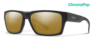 Smith Outlier 2 Matte Black ChromaPop Polarized Bronze Mirror Sunglasses