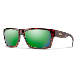 Smith Outlier 2 Tortoise ChromaPop Polarized Green Mirror Sunglasses