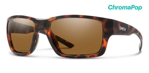 Smith Outback  Chroma Pop Polarized Brown Sunglasses  - Matte Tortoise SURF WORLD
