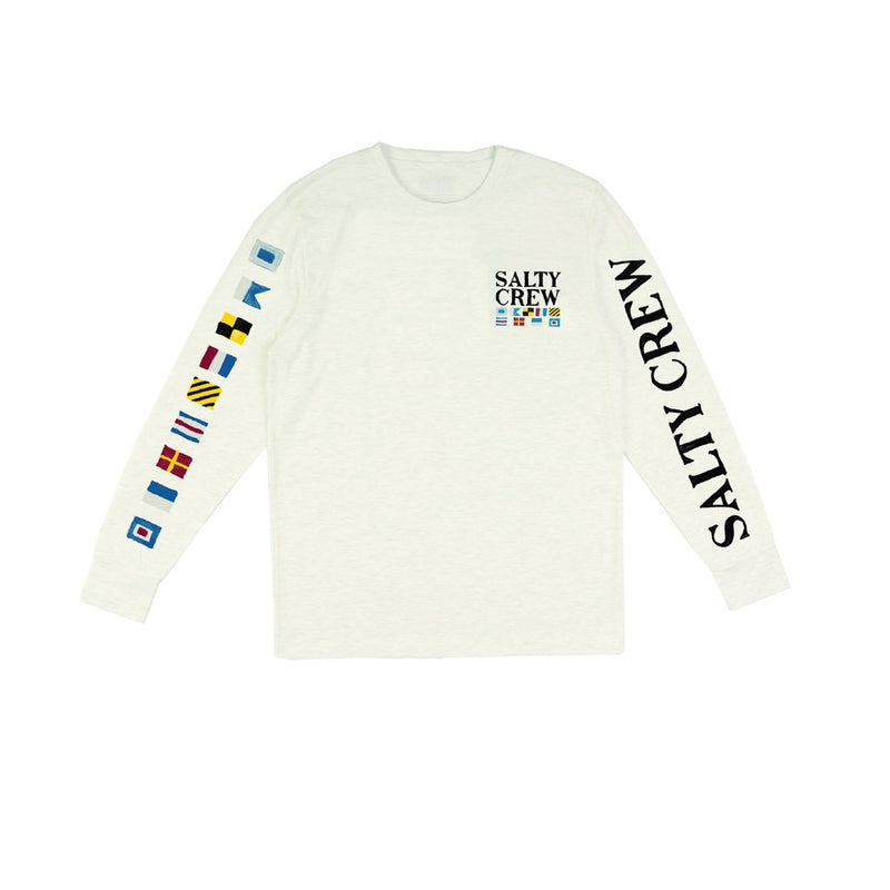 90f5935dd5 Salty Crew Signals Long Sleeved Tech Tee White