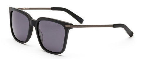 Otis Cross Roads Matte Black Grey Polarised Sunglasses - SURF WORLD Florida