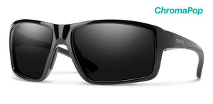 Smith Hookshot Gloss Black Chromopop Polarized Black Lense Sunglasses